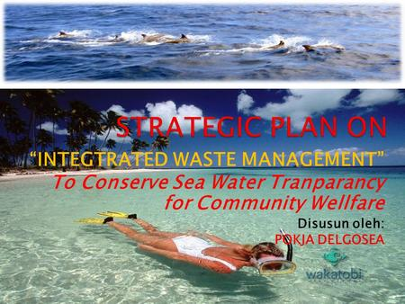 "STRATEGIC PLAN ON ""INTEGTRATED WASTE MANAGEMENT"""