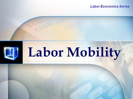 Labor Economics Series