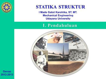 I Made Gatot Karohika, ST. MT. Mechanical Engineering