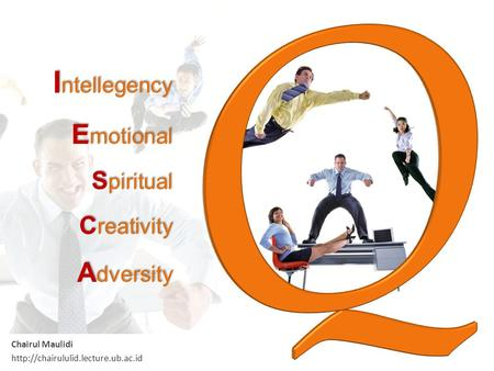 Intellegency Emotional Spiritual Creativity Adversity