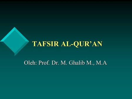 Adab pergaulan dalam islam ppt
