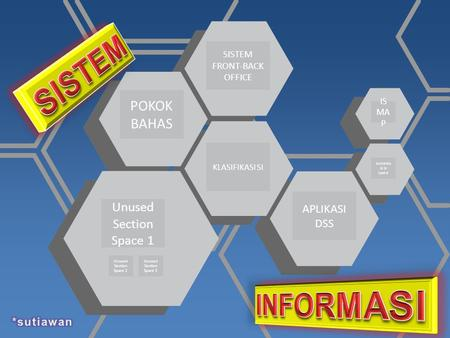 SISTEM FRONT-BACK OFFICE