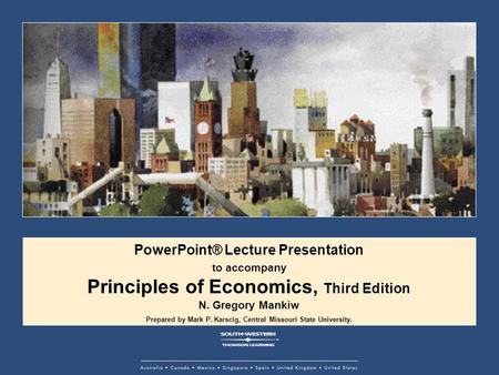 Principles of Economics, Third Edition