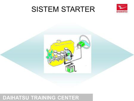 SISTEM STARTER DAIHATSU TRAINING CENTER.