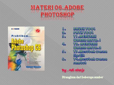 Materi 06.ADOBE PHOTOSHOP