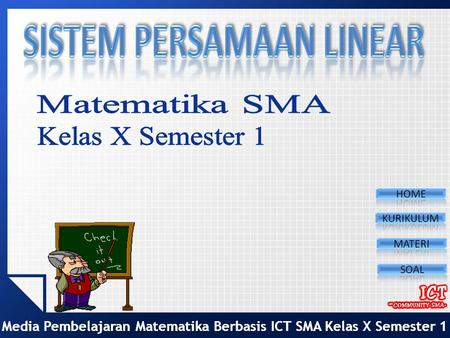 Sistem Persamaan Linier Ppt Download