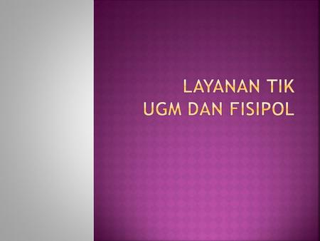  Hosting UGM    mail.ugm.ac.id        E-learning.
