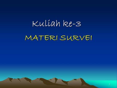 * Pemilihan Rancangan Studi - ppt download