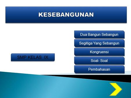 Kesebangunan Bangun Datar Ppt Download