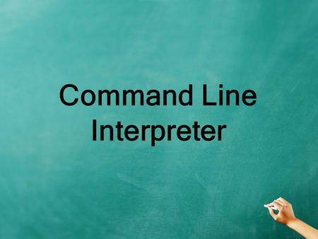 Command Line Interpreter. Cara membuka Command Prompt Klik menu start  all programs  accessoris  command prompt.