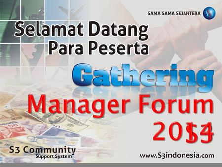 Manager Forum S3 2014.