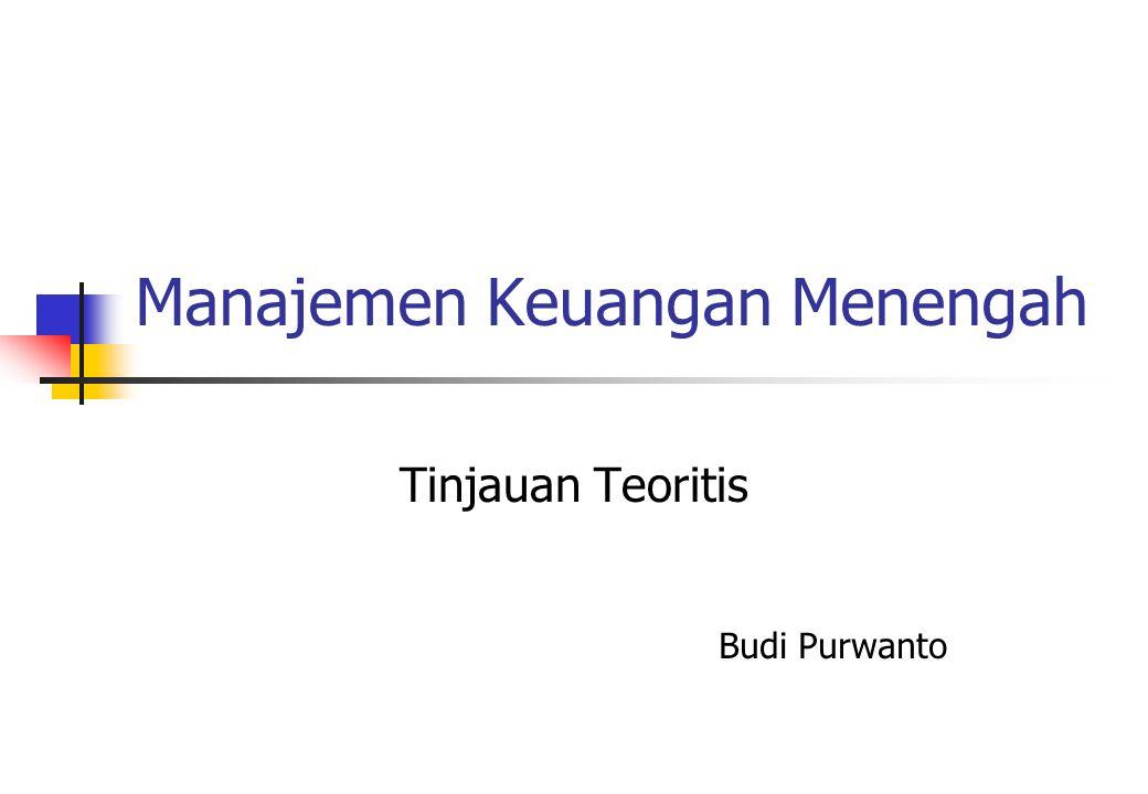 Manajemen Keuangan Menengah
