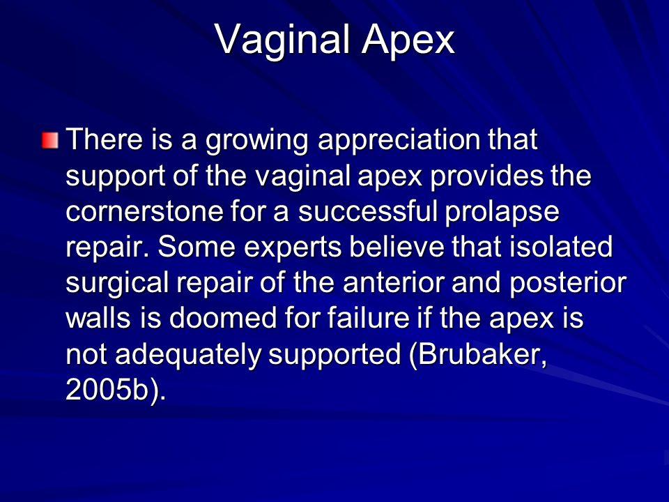 Vaginal Apex