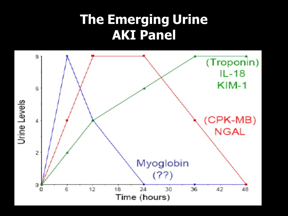 The Emerging Urine AKI Panel