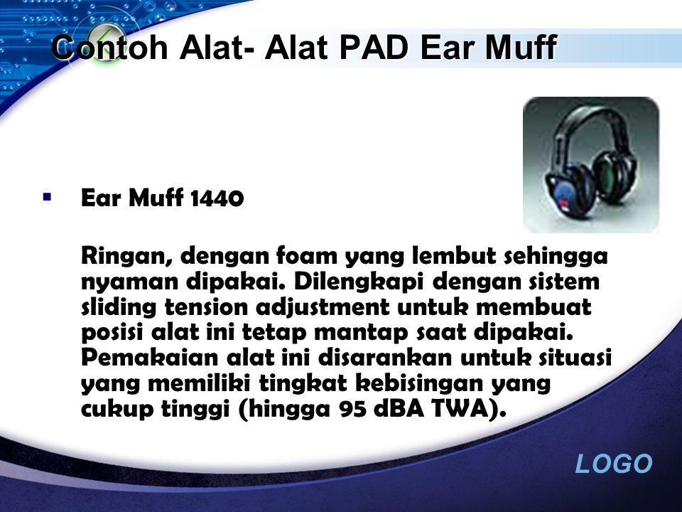 Contoh Alat- Alat PAD Ear Muff