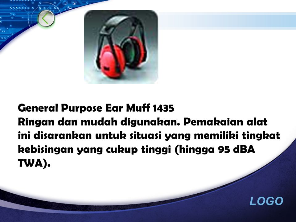 General Purpose Ear Muff 1435 Ringan dan mudah digunakan