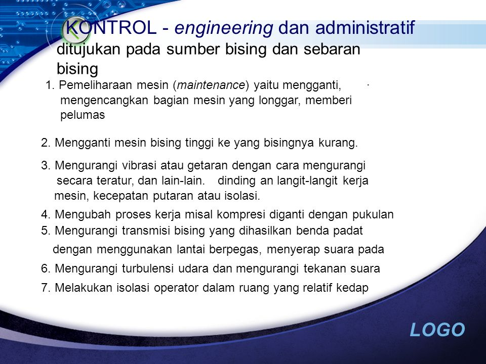 KONTROL - engineering dan administratif