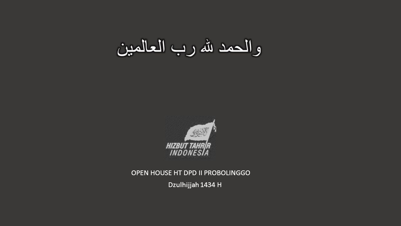 OPEN HOUSE HT DPD II PROBOLINGGO