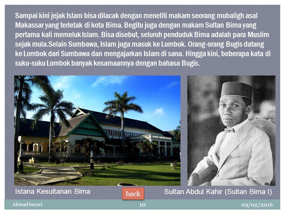 Sultan Abdul Kahir (Sultan Bima I)