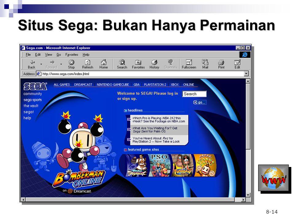 Situs Sega: Bukan Hanya Permainan