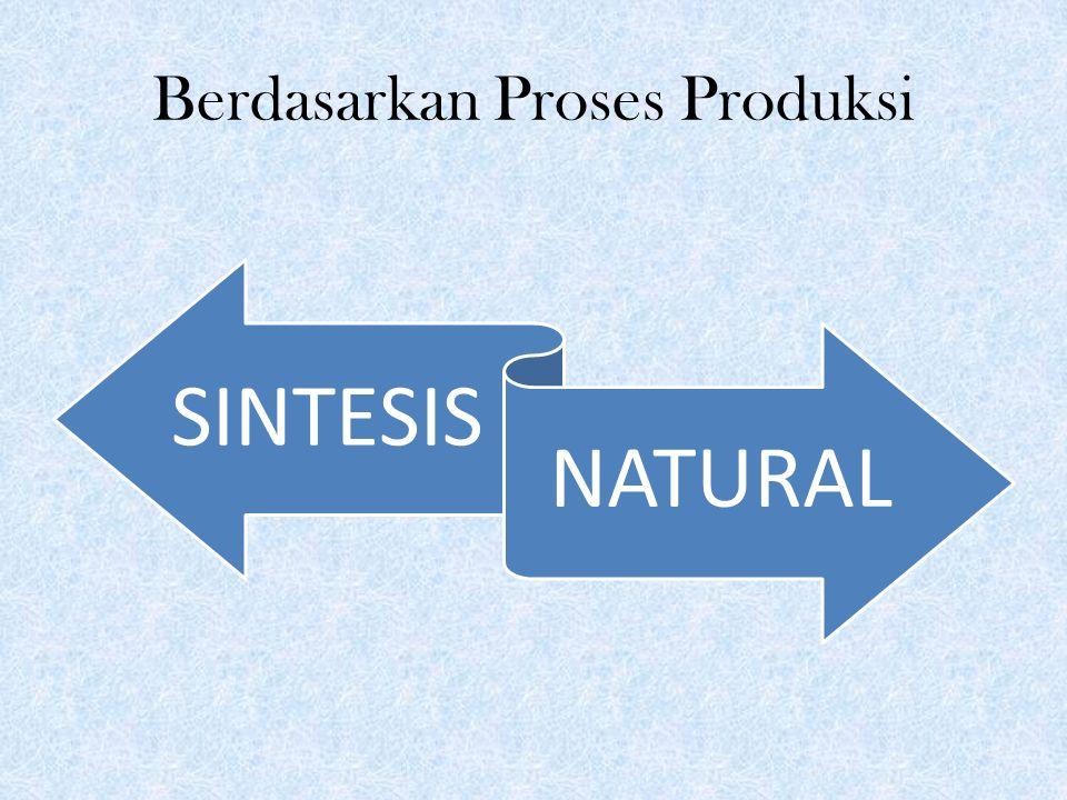 Berdasarkan Proses Produksi