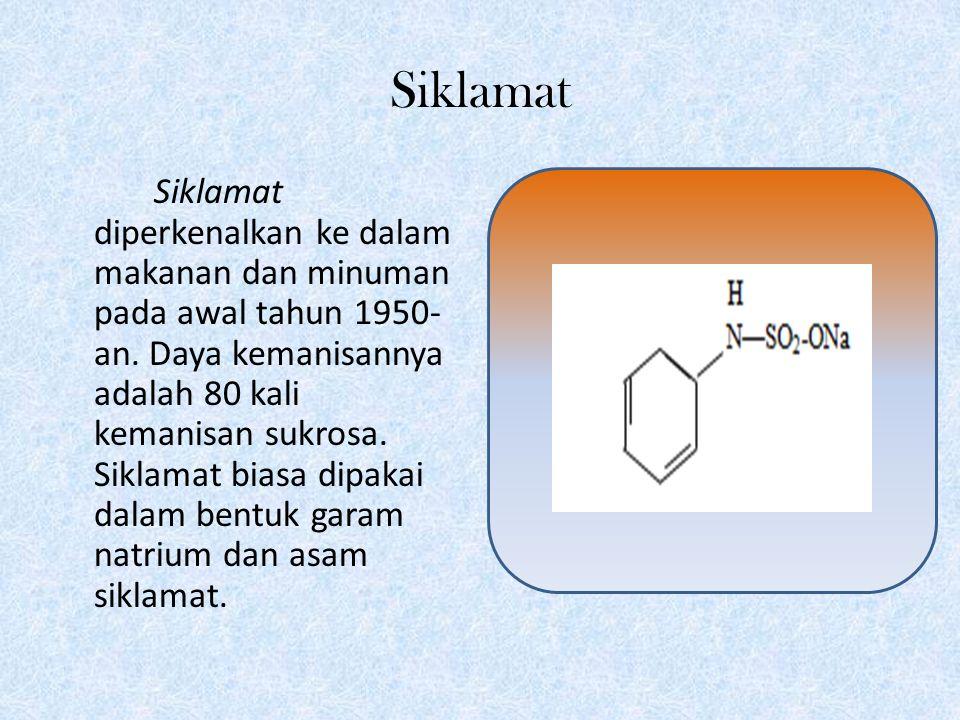 Siklamat