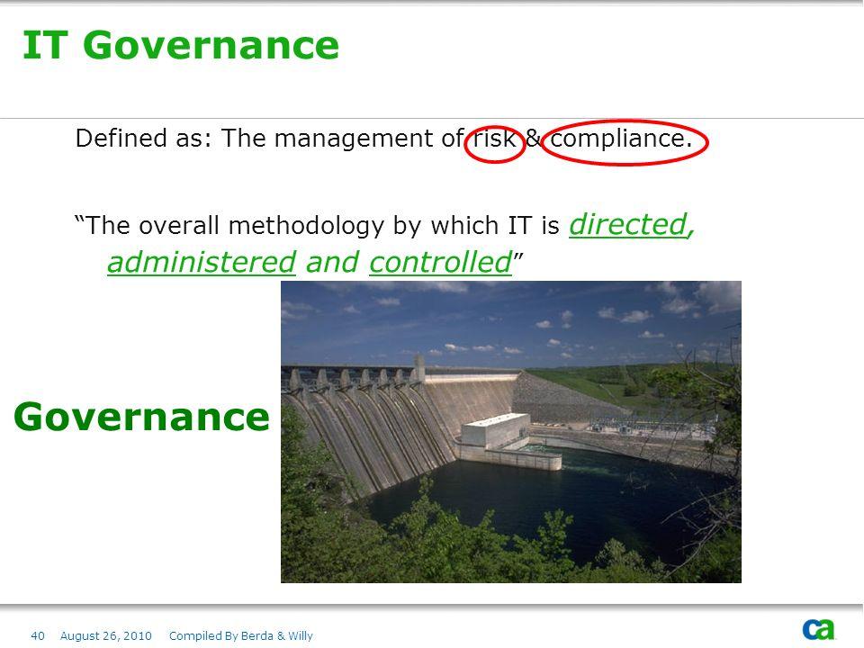 Governance Compliance