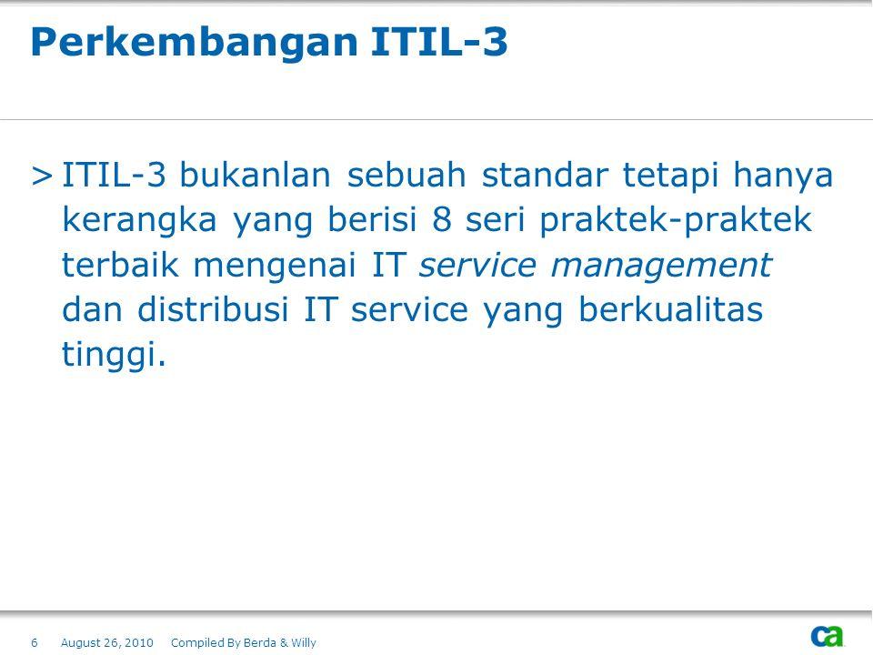 Perkembangan ITIL-3