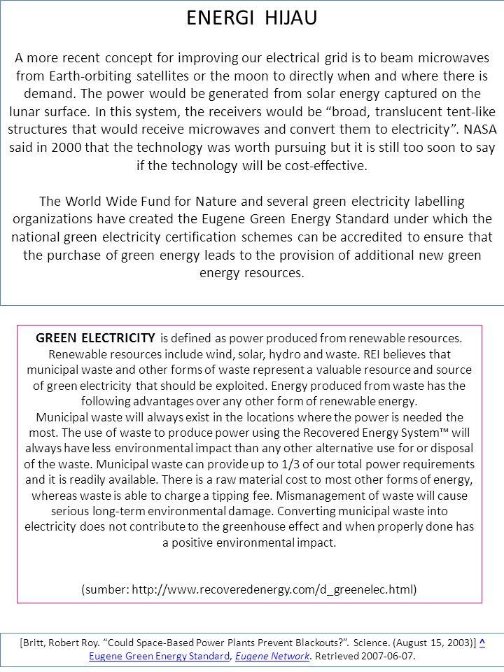 (sumber: http://www.recoveredenergy.com/d_greenelec.html)