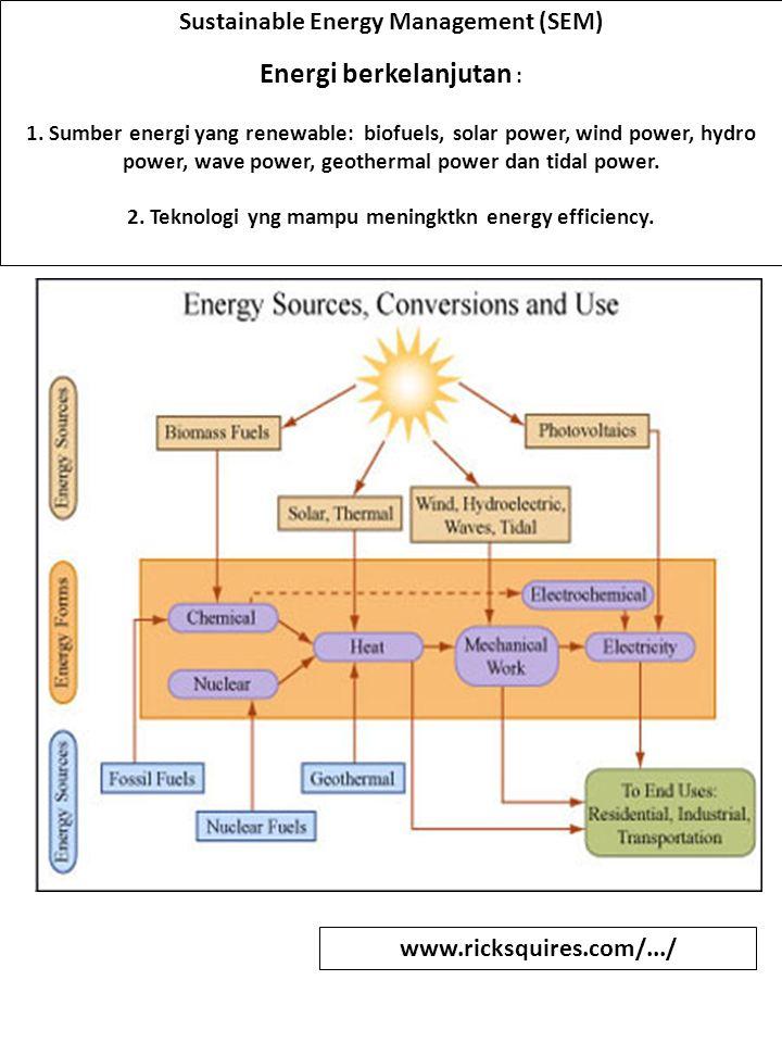 Energi berkelanjutan :