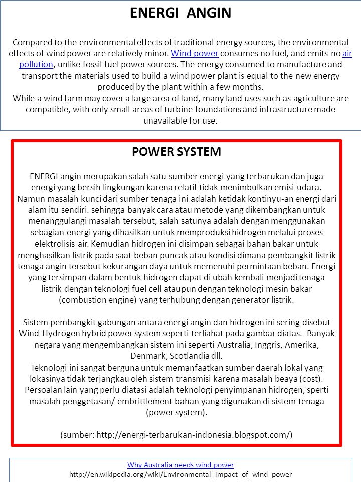 ENERGI ANGIN POWER SYSTEM