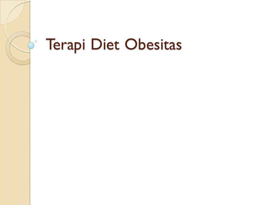 Terapi Diet Obesitas