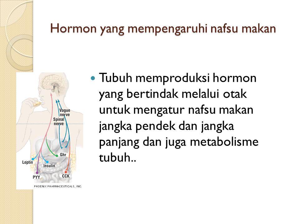 Hormon yang mempengaruhi nafsu makan