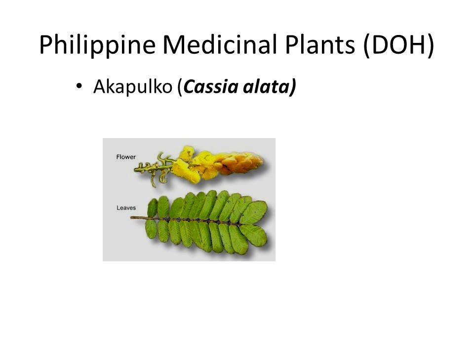 Philippine Medicinal Plants (DOH)