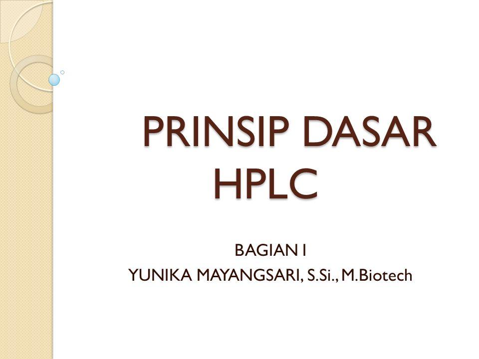 BAGIAN I YUNIKA MAYANGSARI, S.Si., M.Biotech