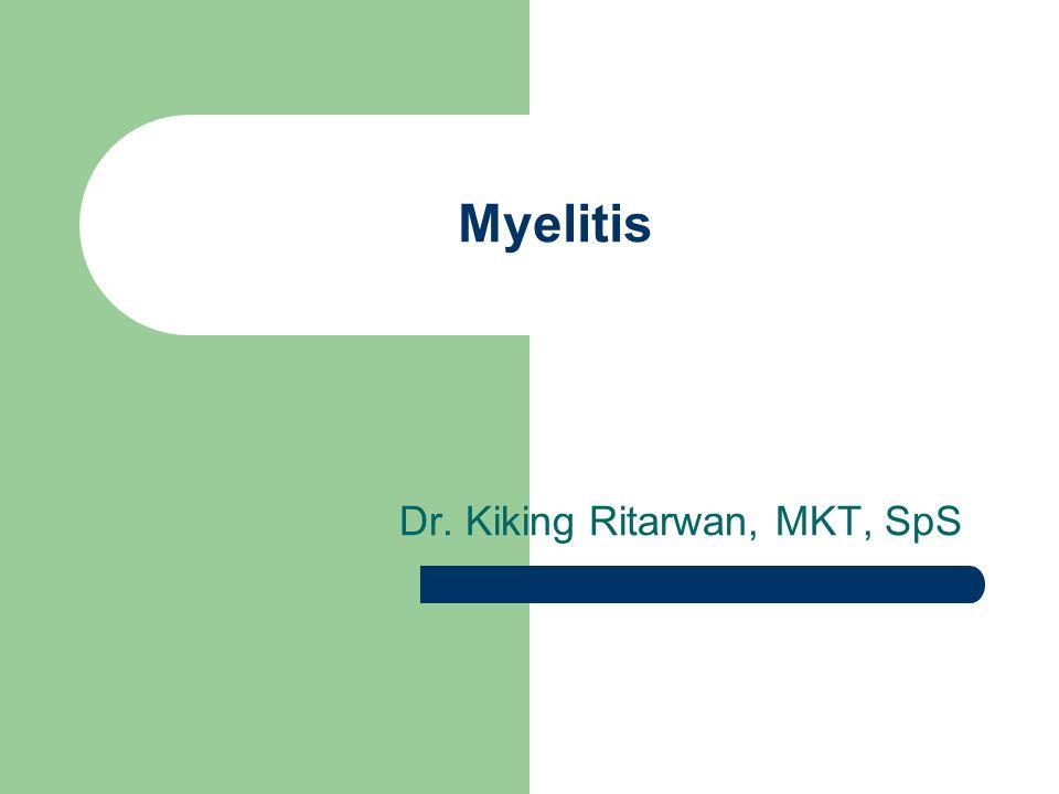 Dr. Kiking Ritarwan, MKT, SpS