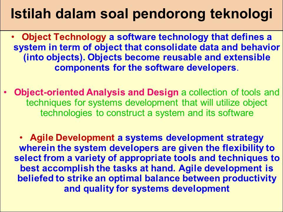 Istilah dalam soal pendorong teknologi