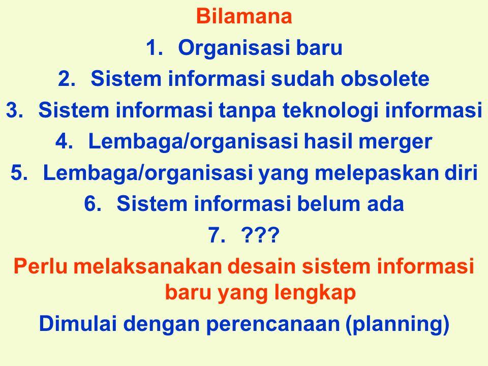 Sistem informasi sudah obsolete