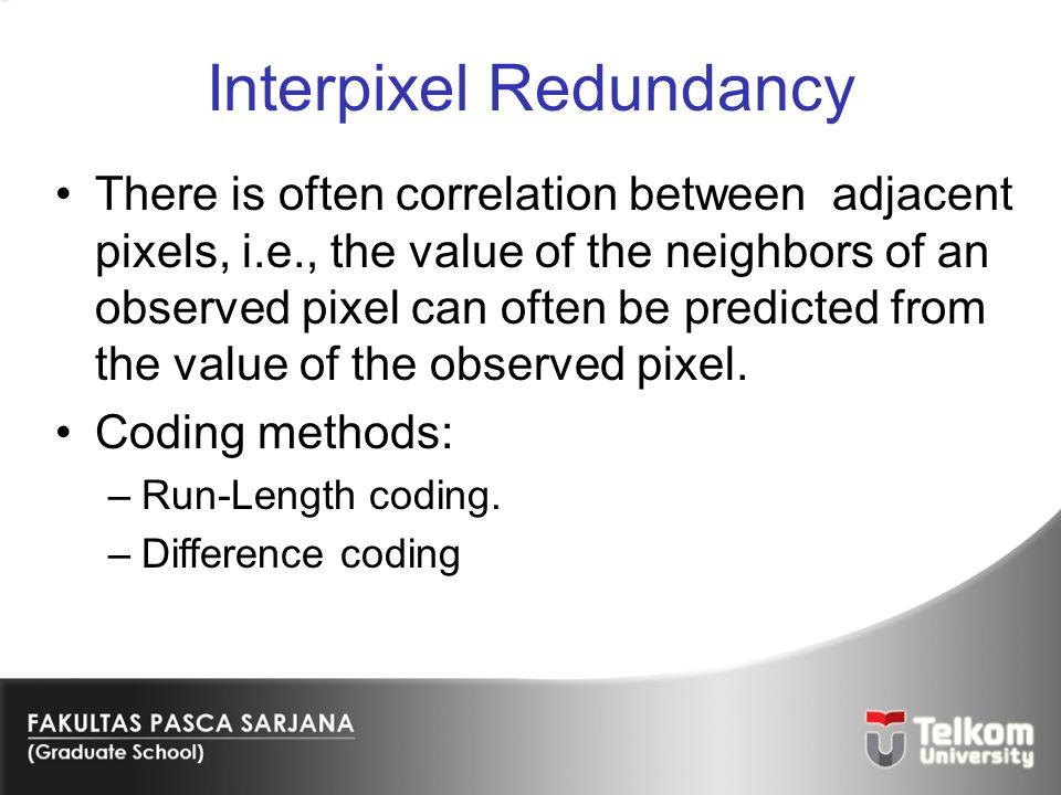 Interpixel Redundancy