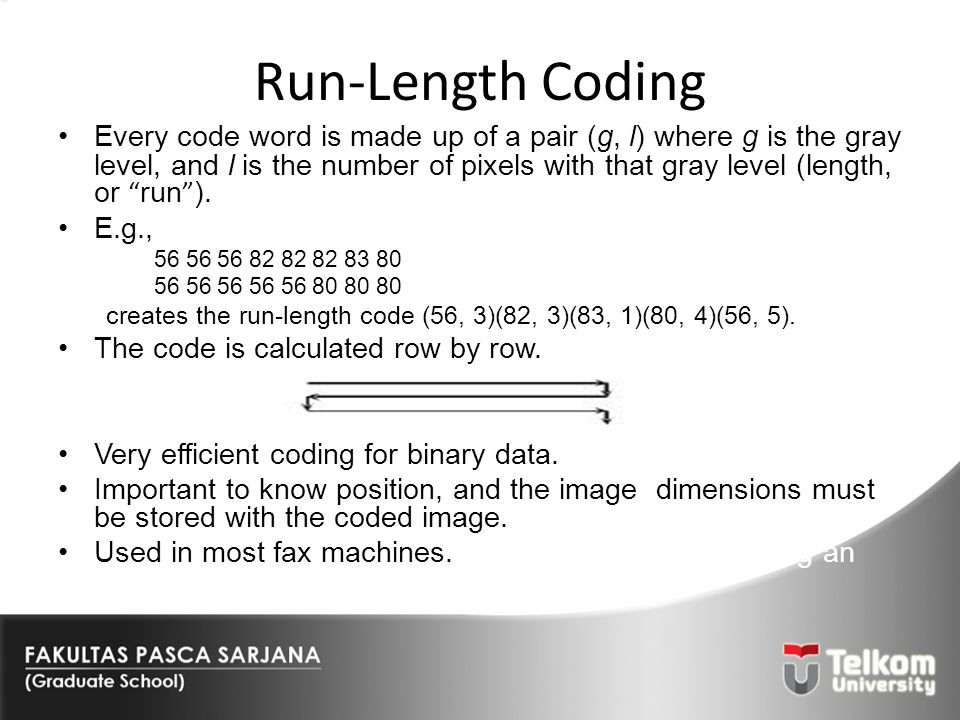 Run-Length Coding