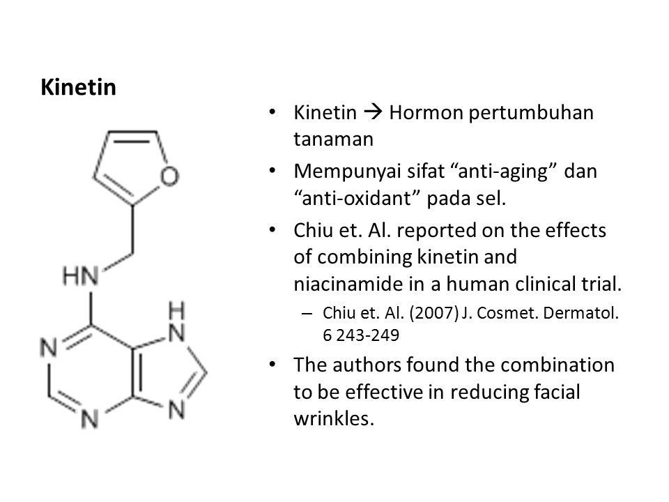 Kinetin Kinetin  Hormon pertumbuhan tanaman