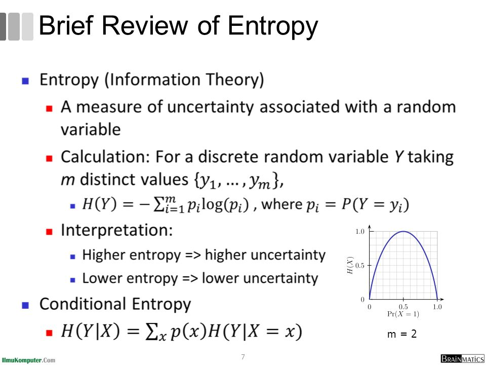 Brief Review of Entropy