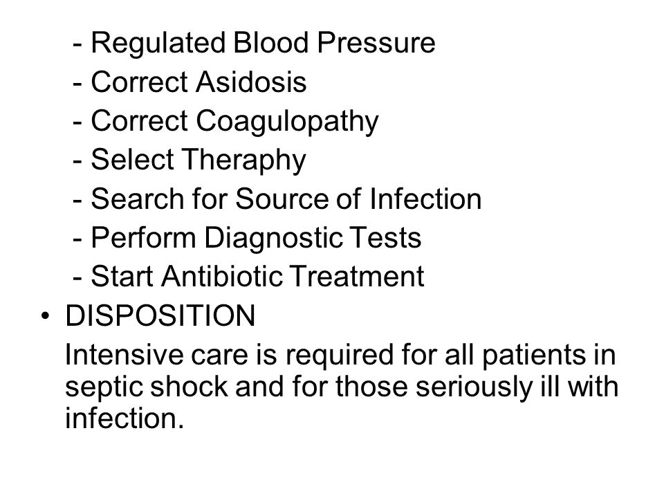 - Regulated Blood Pressure