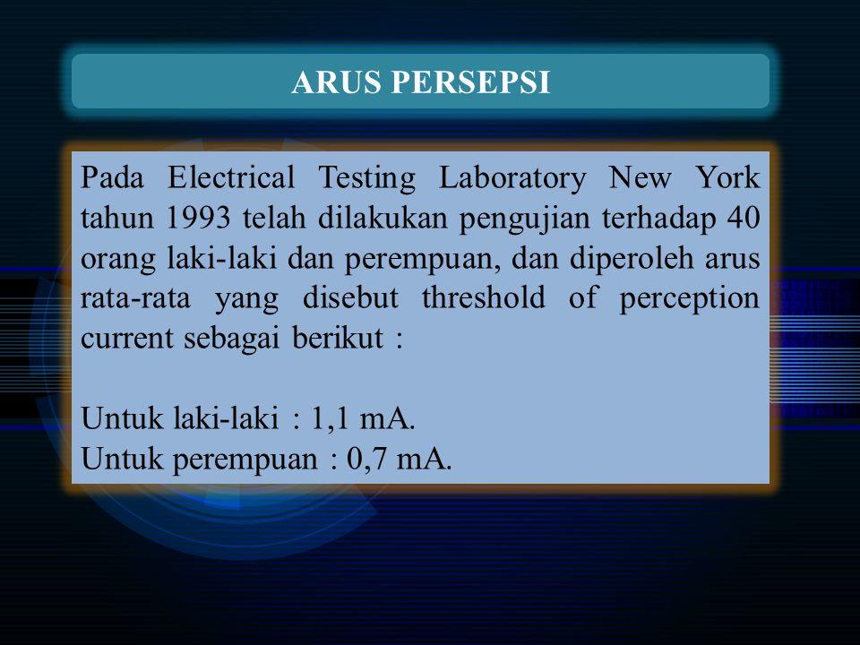 ARUS PERSEPSI