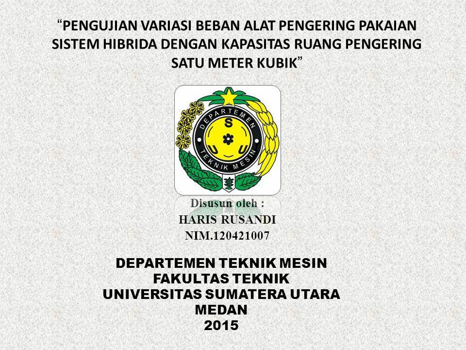Disusun oleh : HARIS RUSANDI NIM.120421007