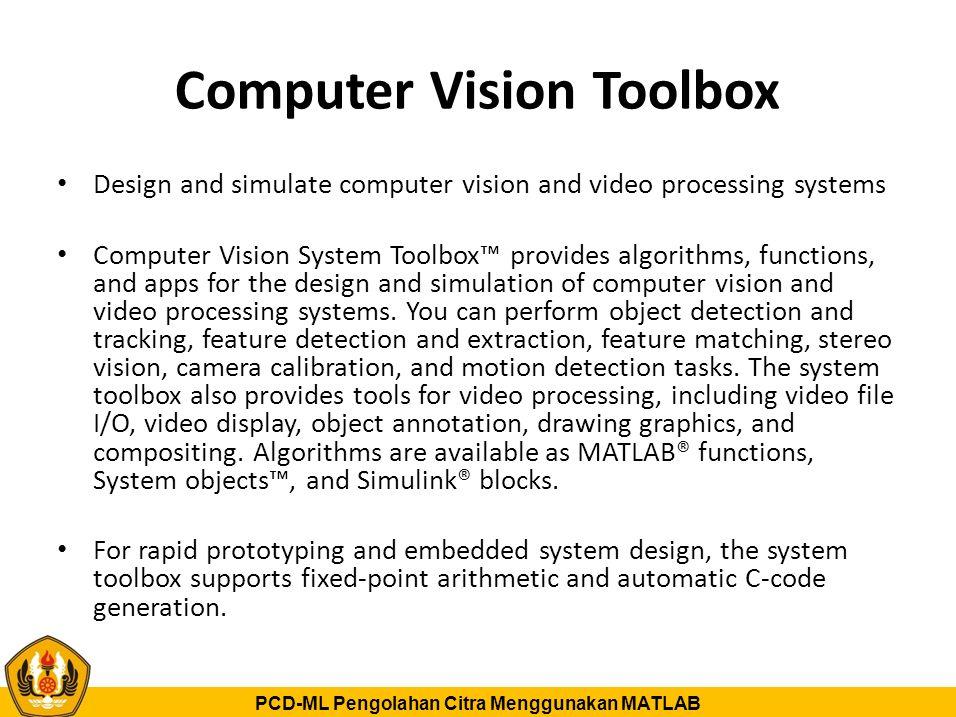 Computer Vision Toolbox