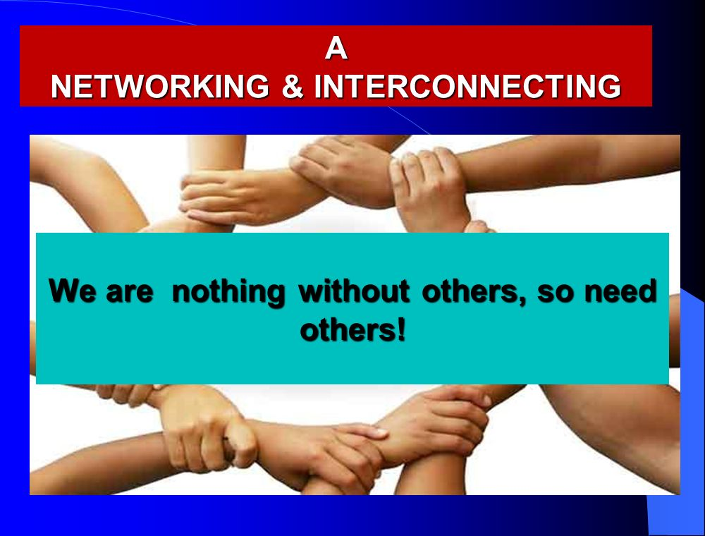 A NETWORKING & INTERCONNECTING