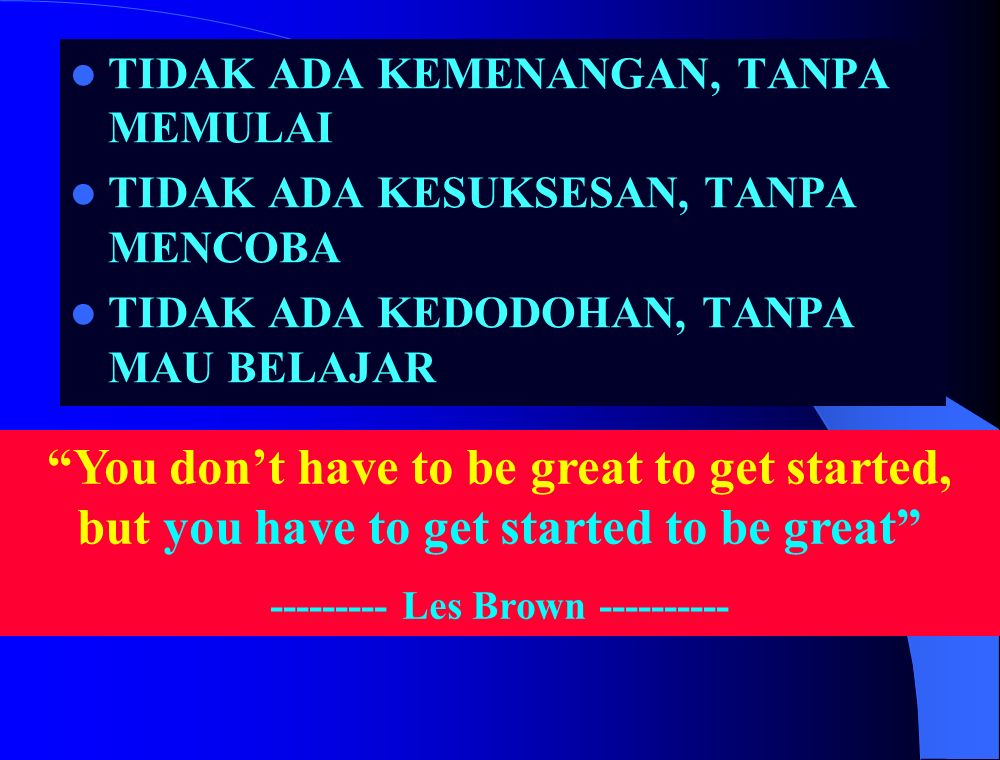 --------- Les Brown ----------