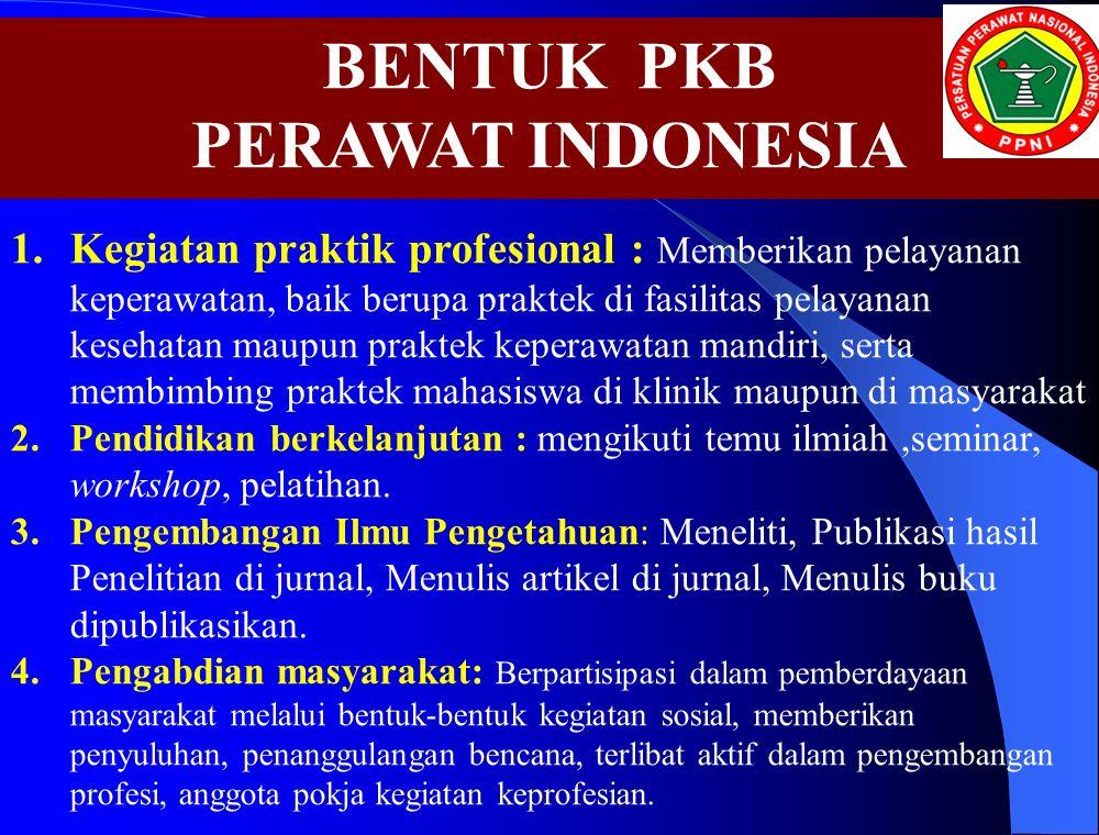 BENTUK PKB PERAWAT INDONESIA