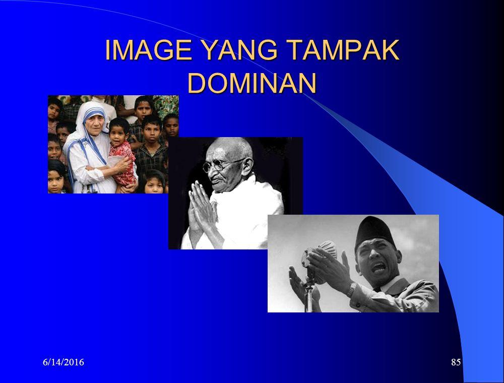 IMAGE YANG TAMPAK DOMINAN